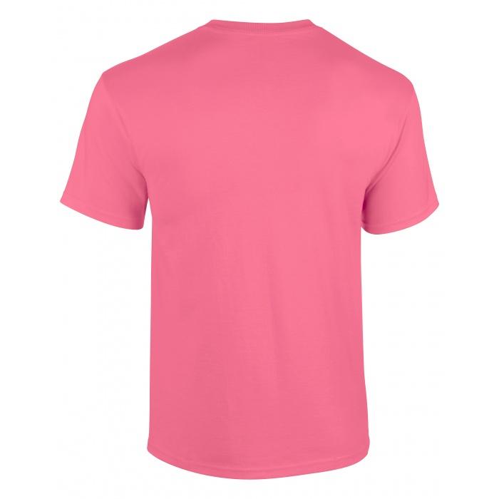 GI5000, Heavy Cotton Adult T-shirt (Safety Pink) ○ Gildan